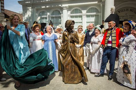 world first statue of jane austen unveiled cetusnews news and media