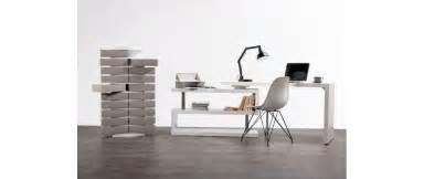 bureau design blanc laqu 233 amovible max miliboo