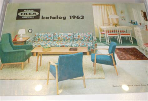 vintage ikea at the ikea museum