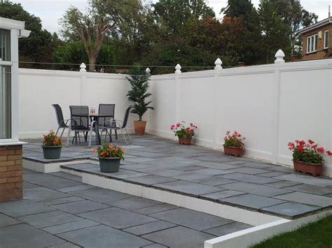 indian patio white fencing block paving specialists