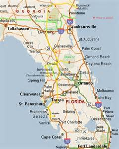 map of south central florida florida map links