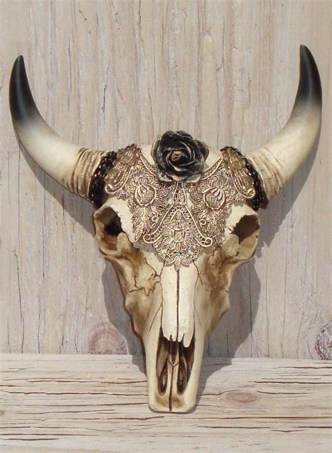 Skull Decorations by 1000 Ideas About Cow Skull Decor On Cow Skull