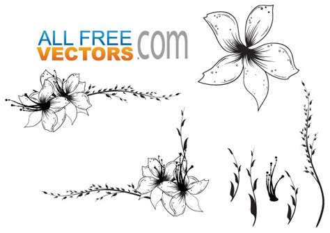 free clipart vector free floral clip vector free vector