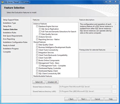 installing sql server 2012 for configuration manager 2012 how to install sql server 2012 denali ctp3