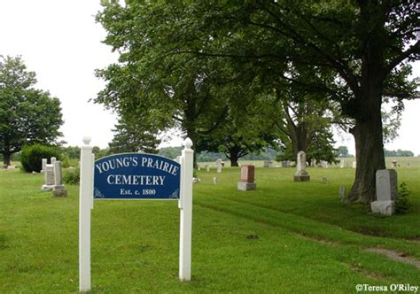 Cass County Michigan Records S Prairie Cemetery