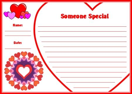 special person card template s day teaching resources lesson plans for