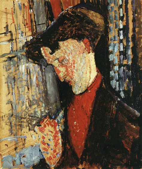 Modigliani Reclining by Amedeo Modigliani Portrait Of Frank Burty Haviland