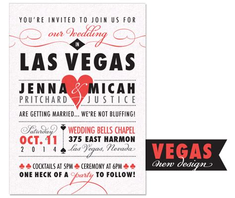 las vegas themed invitation wording new design vegas american wedding wisdom
