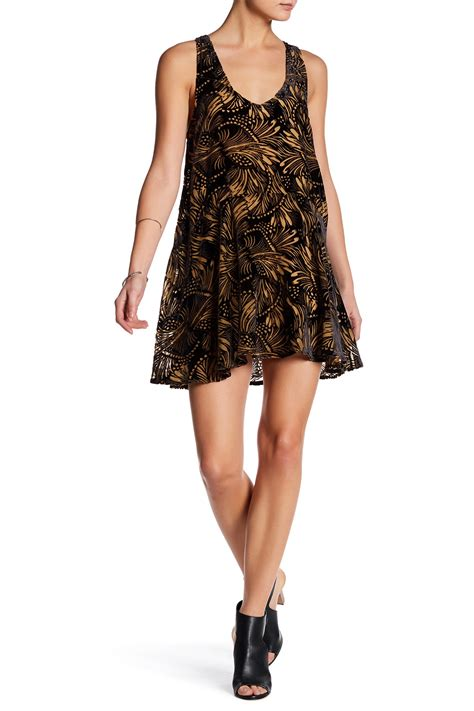 Minidress Elie free ellie burnout velvet minidress nordstrom rack