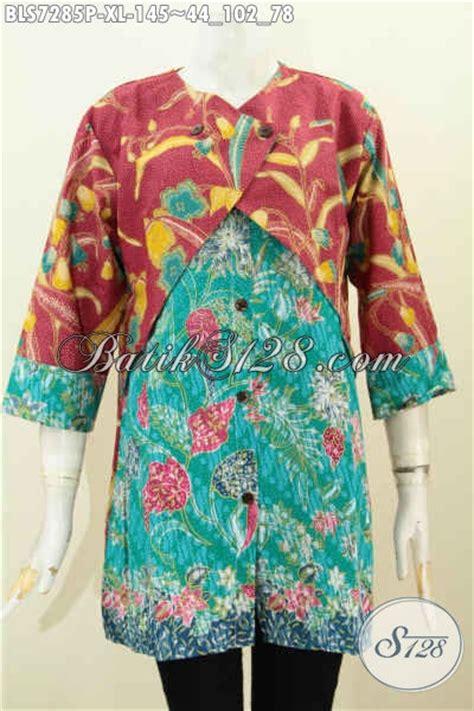 desain baju wanita keren baju batik cewek modis blus batik keren desain mewah