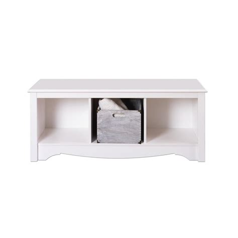 cubbie bench prepac monterey cubbie bench wsc 4820 the home depot