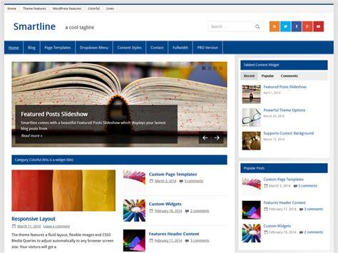 wordpress themes zee smartline themezee