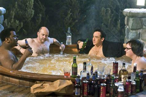 hot tub time machine bathtub part everybody s having boozy sex at spa castle