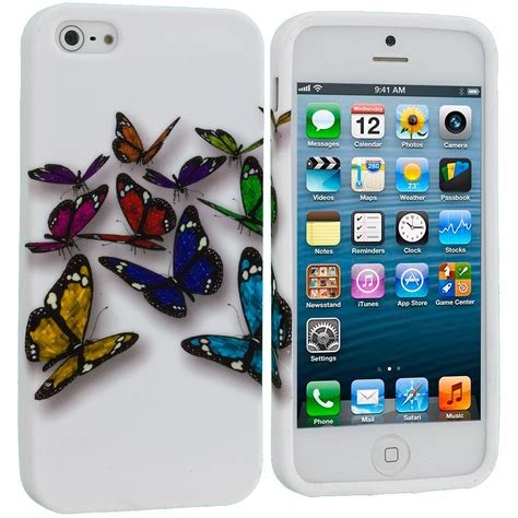 Softcase Iphone 5g 5s for iphone 5s 5 5g color tpu design soft rubber skin cover accessory ebay