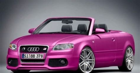 pink audi convertible pink convertible audi i love it oh baby momma is coming