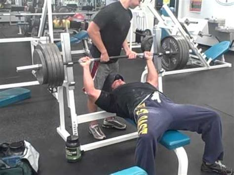 raw bench press training mike dunaj does a 475 lb raw bench press in training youtube
