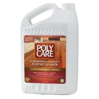 Polycare Wood Floor Cleaner Concentrate 1 Gallon   Efloors.com