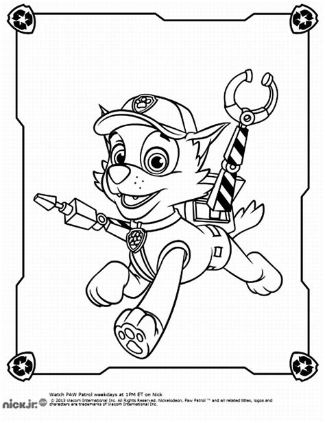 paw patrol team coloring pages free coloring pages of paw patrol team