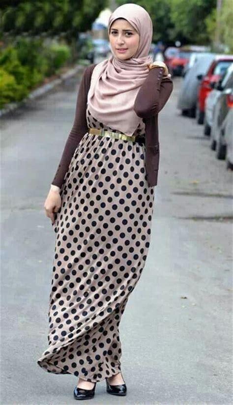 Atasan Pink Metalic belted abaya with fashion for muslim