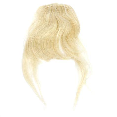Hair Clip Asli Human Hair human hair clip on forelock blond cybershop