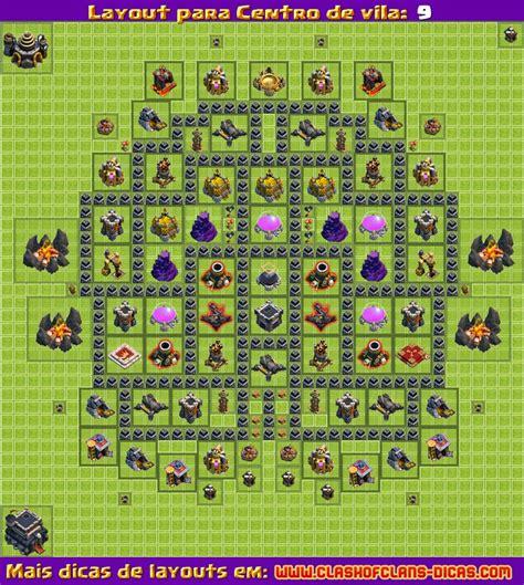 layout batman cv 9 layouts para clash of clans cv 9 atualiza 231 227 o 4
