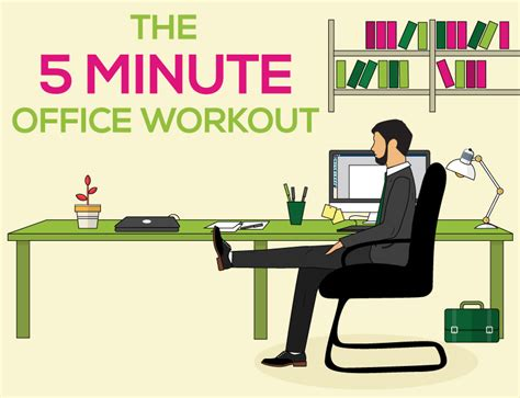 The Five Minute Office Workout Online Doctor Blog Office Desk Workouts