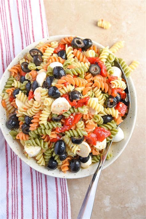 tri color pasta recipe tri color pasta salad recipe s