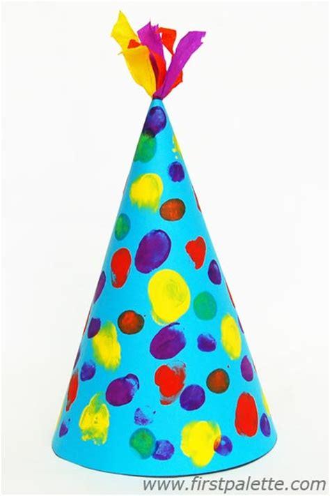 birthday hat birthday hat craft crafts firstpalette