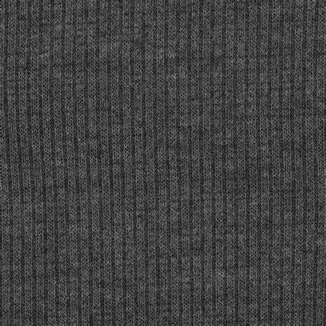 Varsity Hatchi Rib Knit Grey Discount Designer Fabric