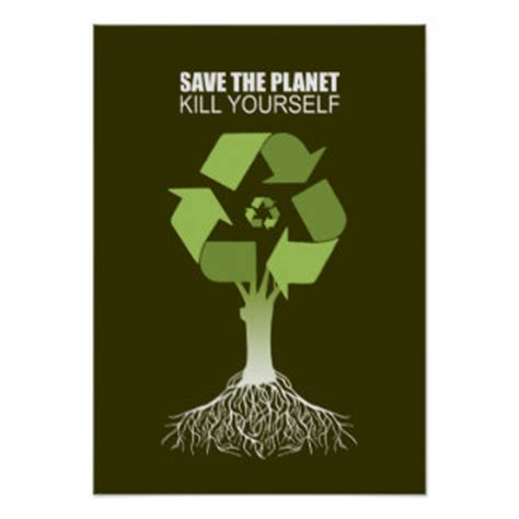 Yourself The Planet by Save The Planet Posters Zazzle