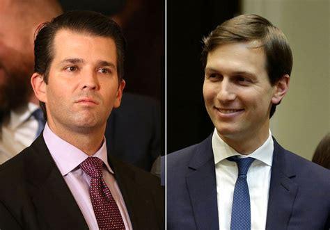 Trump Junior Jared Kushner Met With Russian Lawyer   report kushner trump jr met with russian lawyer amid