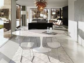 Black Modern Dining Room Sets by Buy The Knoll Saarinen Tulip Large Dining Table Oval At