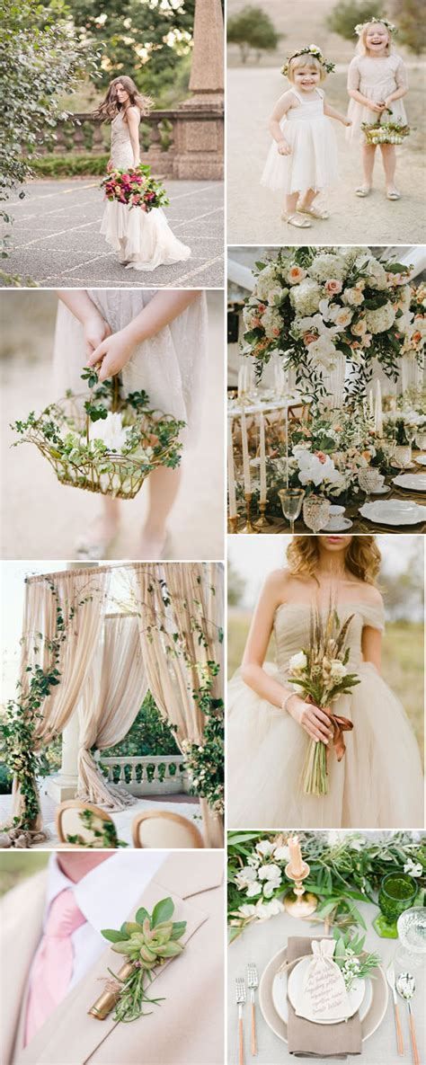 popular wedding colors 7 most popular greenery wedding color combos you can never