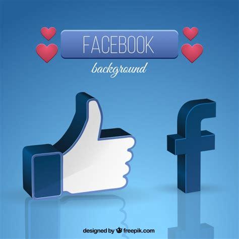facebook layout vector free facebook symbol background vector free download