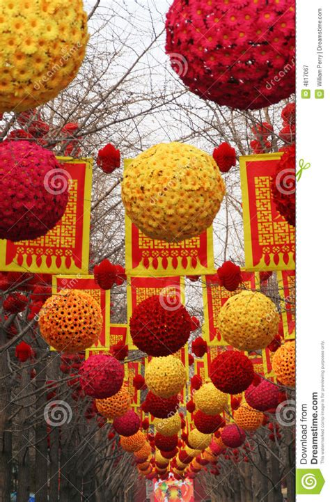 new year hers beijing lunar new year decorations beijing china stock