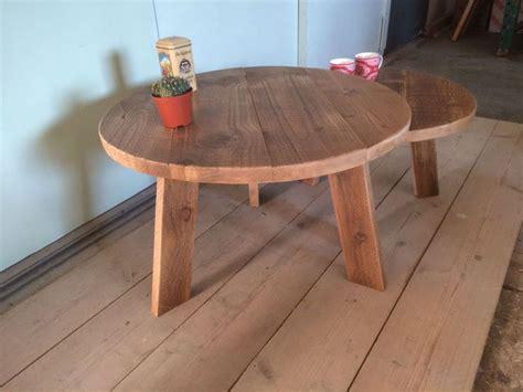 leuke houten salontafel 25 beste idee 235 n over houten salontafels op pinterest