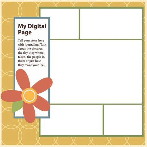 scrapbook page templates free 41 best images about digital scrapbook freebies templates