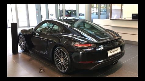 cayman porsche black porsche 718 cayman black walkaround
