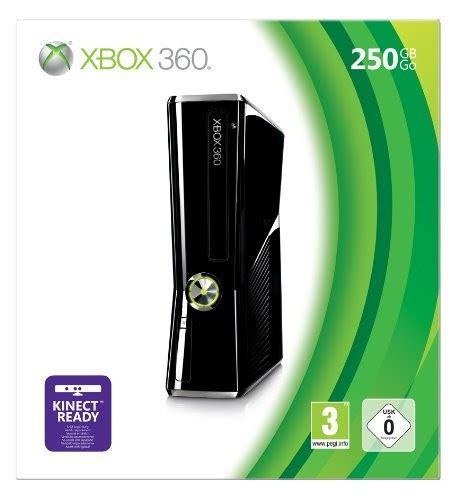 microsoft xbox 360 250gb console buy new microsoft xbox 360 slim console 250gb kinect ready