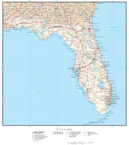 florida counties map with roads florida jpg travelquaz