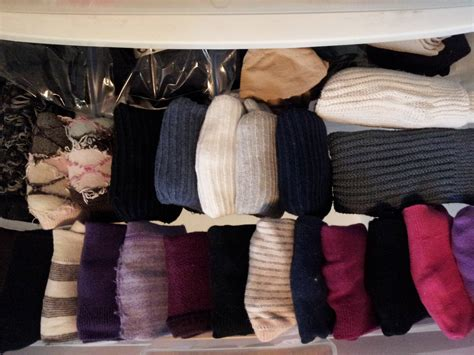 Over The Door Organizer how to organize a lot of clothing in very little closet space