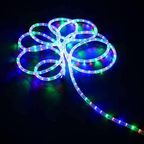 luces led decoracion homcom cadena luces led de alambre impermeable luz