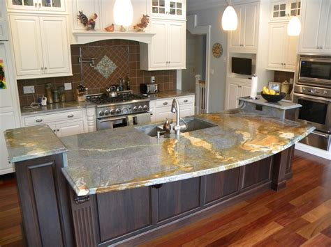 trends in kitchen countertops unique kitchen countertops trends and unusual images