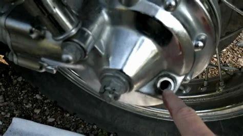 yamaha virago  final gear oil change youtube