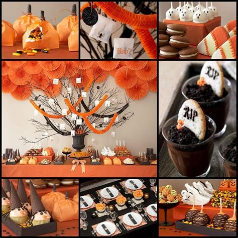 halloween themes images halloween party table decoration ideas photograph hallowee