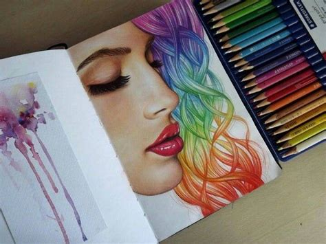 color pencil drawing