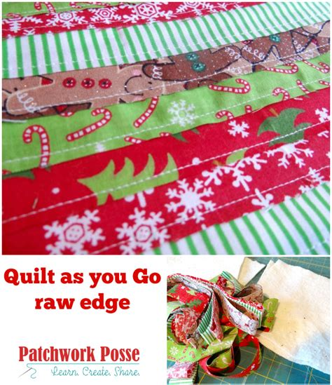 Quilt As You Go Tutorials by Quilt As You Go Edge Technique