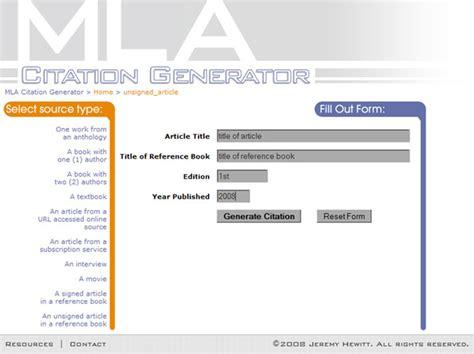 film mla citation generator mla citation for websites machine