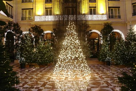 holiday magic at four season s hotel george v paris