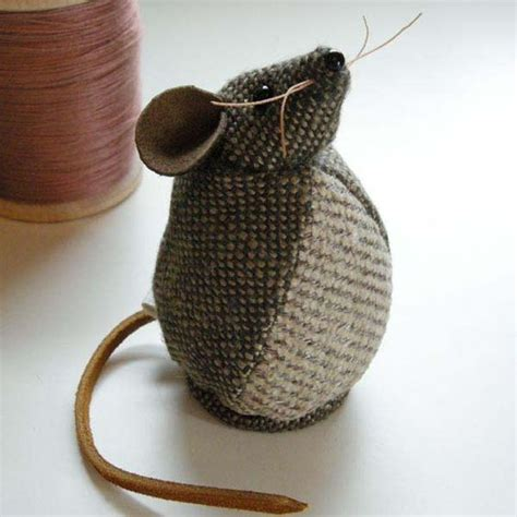 pattern for a fabric mouse tweed fabric mouse the head patterns and fabrics